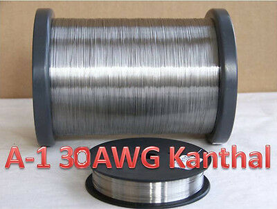 Kanthal A-1 Wire 30 Gauge .01 Resistance Heating Wire -100 Ft. Spool