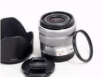 Panasonic 14 - 42 mm / F 3,5 - 5,6 II G VARIO ASPH OIS H-FS1442A 14 mm-Lens in Silver. £75
