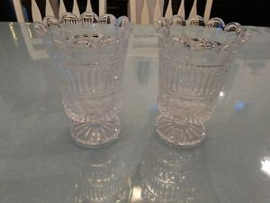 Candle Holders - glass