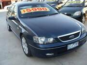 BA FAIRMONT GHIA SEDAN Rent From $210.00PW Conditions Apply Werribee Wyndham Area Preview