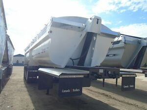 2013 Canuck end dump gravel trailer Moose Jaw Regina Area image 2