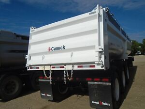 2013 Canuck end dump gravel trailer Moose Jaw Regina Area image 3