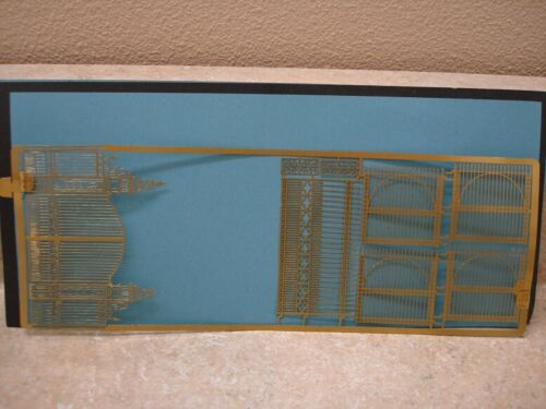 Scale Link Etched Brass Frets 1:76, Park/Estate/Industrial/Station Gates (#3)