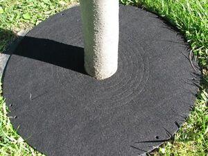 Disque de protection pour arbres et arbustes (Ombrelle à gazon)