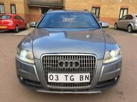 LHD LEFT HAND DRIVE AUDI A6 2.7 TDI ALLROAD GREY 2006 S-LINE QUATTRO SAT NAV 4X4 4WD XENON IMMACULTE