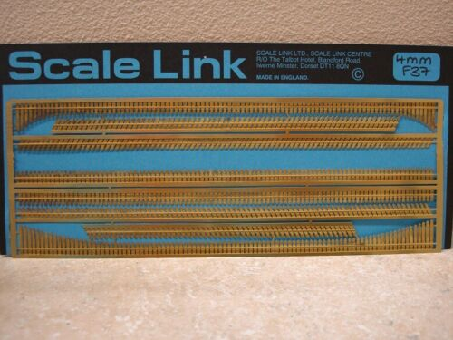 Scale Link Etched Brass Frets, 1:76, 00 Scale - Gwr Standard Valance Boarding
