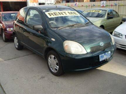 2002 Toyota Echo Hatchback, Rent it From $175pw (BOOKED) Werribee Wyndham Area Preview
