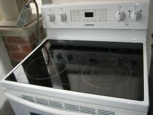 Samsung ceramic top stove, $320Fully Functional, clean inside a