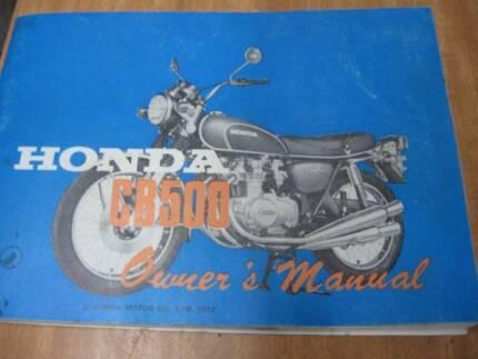 HONDA CB500/4  Service manual