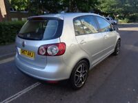 VW GOLF PLUS SE 1.9 TDI. DIESEL,MOT 1 YEAR, FULL SERVICE HISTORY, NEW CLUTCH KIT AND FULL SERVICED