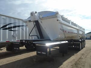 2013 Canuck end dump gravel trailer Moose Jaw Regina Area image 11
