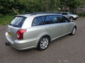 TOYOTA AVENSIS T2 D-4D, DIESEL, 2.0 LTR, 2008, MOT 1 YEAR, FULLY SERVICED, VERY CLEAN IN AND OUT