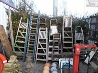 Ladders Galour Various Sizes Available From £12