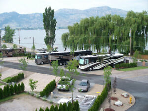Own your own First Class RV lot in Osoyoos, South Okanagan, BC