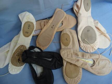 BALLET SHOES New and Various - Male and Female Childrens