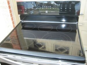 Kenmore stainless steel stove, convection oven, $520touch key p
