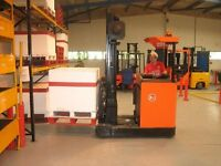Qualified forklift instructor required for local training work