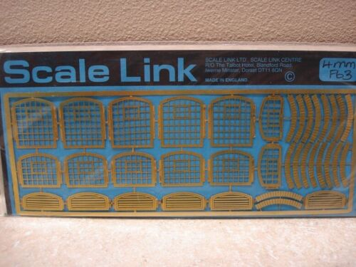 Scale Link Etched Brass Frets 1:76,