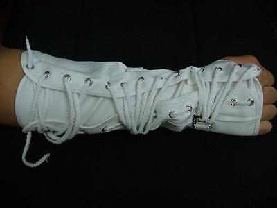 Michael Jackson Clothing Style (NEW Michael Jackson History Style Dangerous MJ White Arm Brace One)