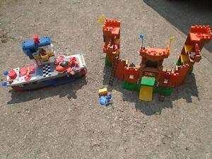 Imaginext Castle, Aircraft Carrier and Plane