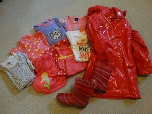 Variety of Girls Clothes