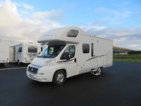 2008 SWIFT SUNDANCE 630G 4 BERTH MOTORHOME WITH FIXED REAR BED ANDERSON MOTORHOME SALES.