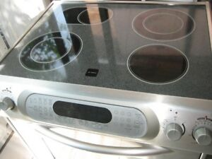 KitchenAid stainless steel slide in stove, convection oven, $450