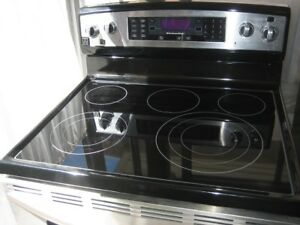 Kitchen Aid stainless steel stove, self clean, $500Fully functi