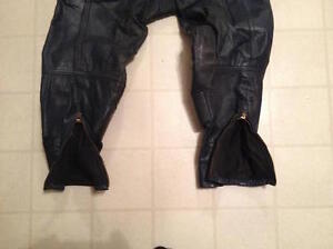LEATHER MOTORCYCLE RACING MOTOCROSS MX PANTS Belleville Belleville Area image 5