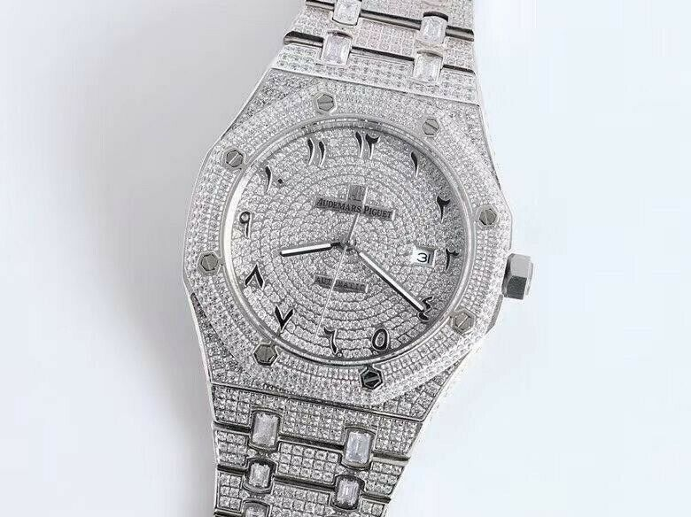 Audemars Piguet Royal Oak Iced Out UA - watch picture 1