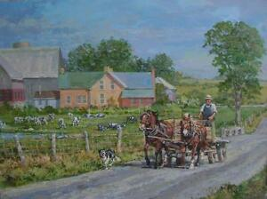 """PETER ETRIL SNYDER ORIGINAL OIL PAINTING"" Wanted Kitchener / Waterloo Kitchener Area image 2"