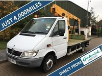2003 Mercedes-Benz SPRINTER 411 CDI CHERRY PICKER HOIST PREISTMAN POWERED ACCESS