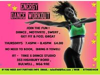Energy Dance Workout Class