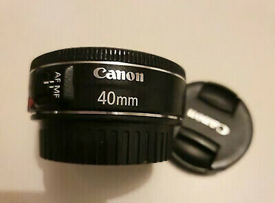 Canon EF 40MM F/2.8 STM Camera Lens Pan cake