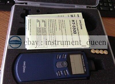 Ono Sokki Ht-5500 Handheld Digital Tachometer New Ht5500