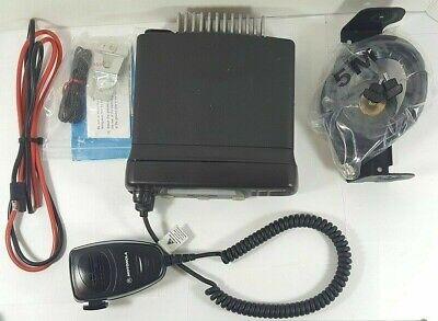 Motorola Cdm1250 Uhf 450-512 Mhz 25 Watt Mobile Radio 64 Ch Aam25shd9aa2an