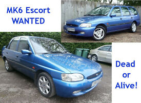 Ford Escort Finesse mk6 wanted