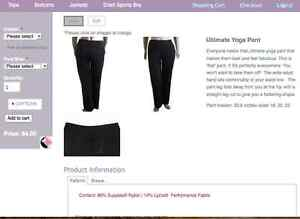 Start Your Own Business - Yoga Wear 14+ Peterborough Peterborough Area image 8