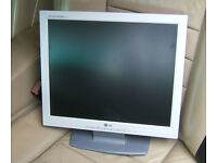 """TFT Flatscreen monitor 17"""" LG Flatron Good condition - no dead pixels"""