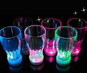 7 Color LED Light Flashing Beer Mug Drink Cup For Bar Party Wedding Clubs KTV