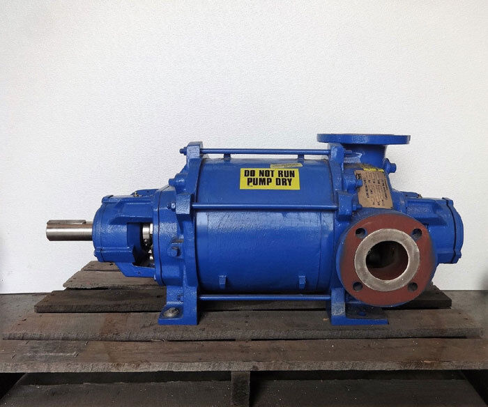 "Gardner Denver Nash XL-80 Vacuum Pump, 3"" x 4"" Flanges, Stainless Steel"