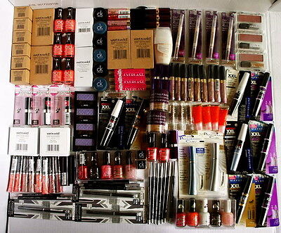 120 Makeup Items Wholesale Joblot Rimmel Olay Bari New Stock Make Up Cosmetics