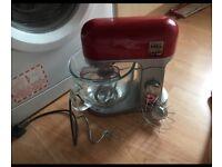 Kenwood kmix red stand mixer