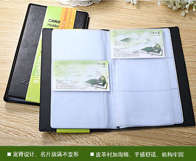 120 Card Business Name Id Credit Card Holder Book Case Keeper Organizer Nt5