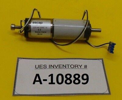 Escap 22s48205e14 Mini Motor R22 Used Working