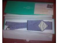 brand new mens sea turtles navy blue silk tie for sale in liverpool (handmade)