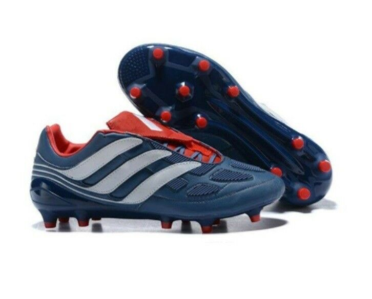 c44ff2e17 ... germany adidas predator fg remake football boots size 10 blue new with  tags 55911 cc245
