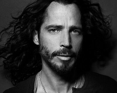 Chris Cornell Soundgarden Singer R I P  Lab Printed B W 8X10 Photo Picture 218