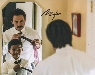 Milo Ventimiglia This Is Us Autographed Signed 8X10 Photo Coa  1