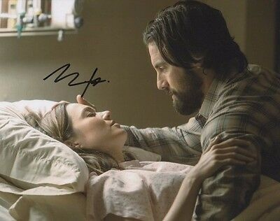 Milo Ventimiglia This Is Us Autographed Signed 8X10 Photo Coa  2